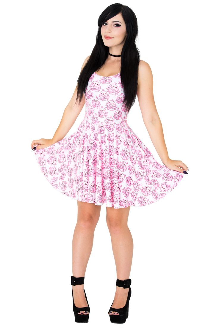 Kittyhawk Clothing Kawaii Skater Dress $75 AUD #kawaii #superkawaii #kittyhawkclothing #skaterdress #cute