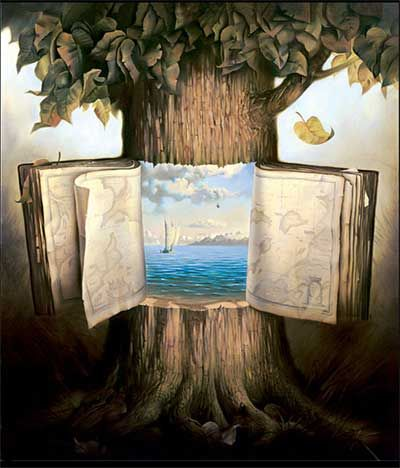 Salvador Dali (this artist is actually: Rafal Olbinski not Dali but very interesting!)