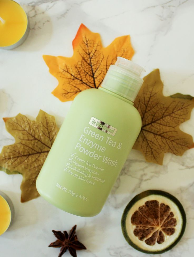 My review of Wishtrend's new Green Tea & Enzyme Powder Wash #kbeauty