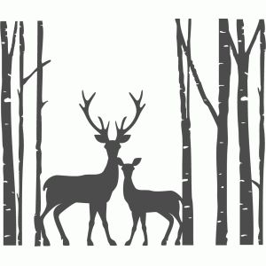 Silhouette Design Store - Search Designs : birch trees