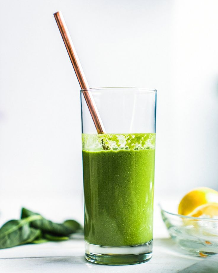 Glowing Green Apple Smoothie