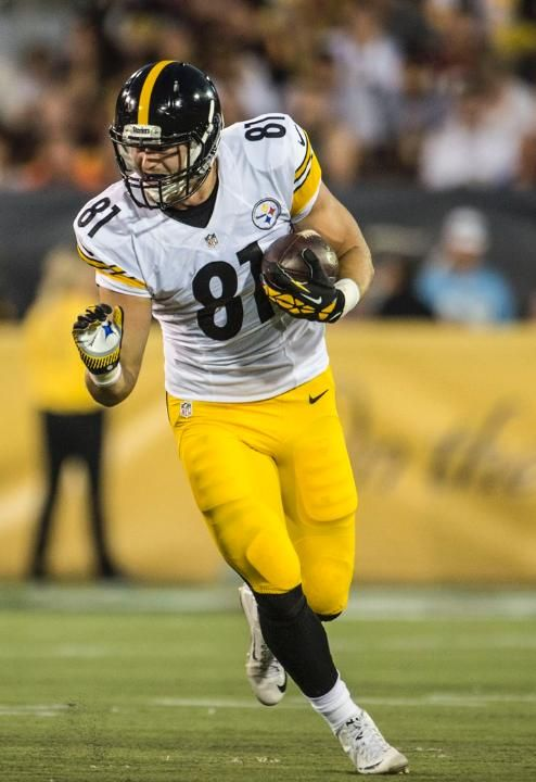 Jesse James, Rookie Pittsburgh Steelers BackUp Tight End - PSU Grad!