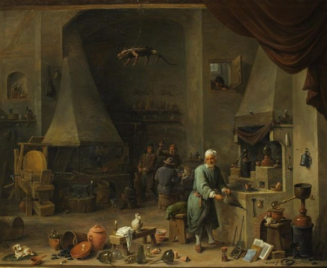 David Teniers II - Res Obscura: The Domestic Life of Alchemists