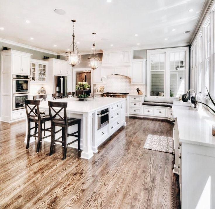 This is a perfect example of what we want the kitchen to look like.