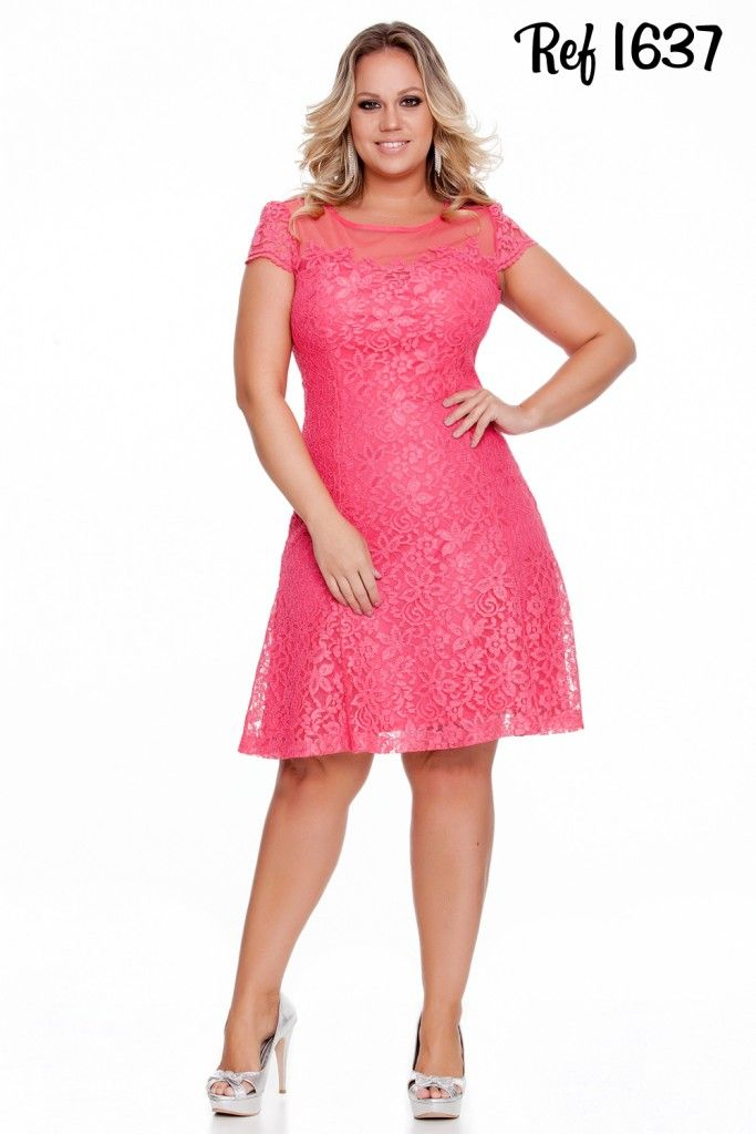15 best vestidos images on Pinterest | Plus size, Big sizes and ...