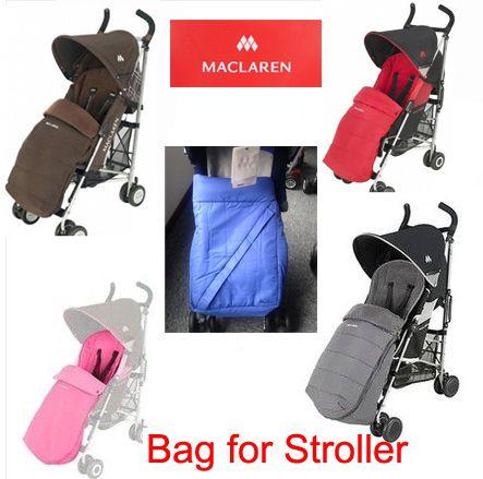Maclaren Original Doll Stroller Sleeping Diaper Bag Pram Feet Cover Thermal Bags Baby Strollers Accessories Case For Wheelchairs
