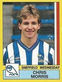 Chris Morris of Sheffield Wed in 1984.