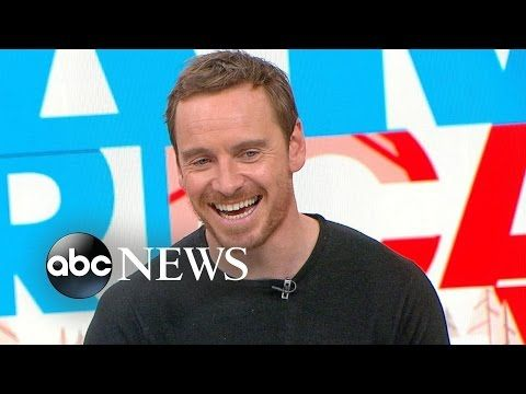 Michael Fassbender Interview | Live with Kelly TV Show (December 14, 2016) - YouTube