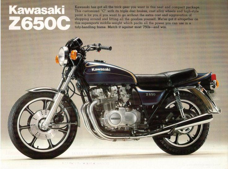 Kawasaki Z650  I had one of these - it was my favourite motorbike