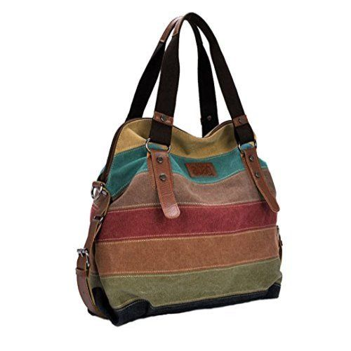 Women Vintage Shoulder Bag Crossbody Canvas Handbags With Shoulder Strap  This…