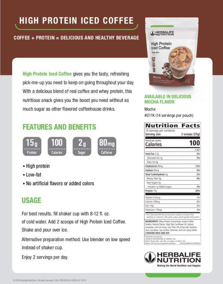 Icedcoffee Protein Proteincoffee Herbalife Herbalifeicedcoffee Herbalife Herbalifeproducts Herbalife Herbalife Ernahrung Herbalife Diat Protein Coffee