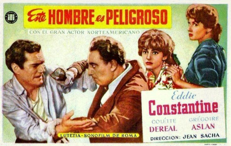 """Este Hombre es peligroso (1953) """"Cet homme est dangereux"""" de Jean Sacha -  tt0045617"""