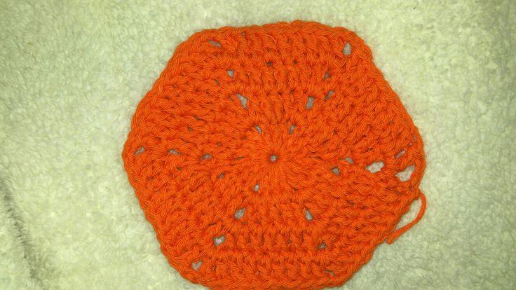 Hexágono crochet