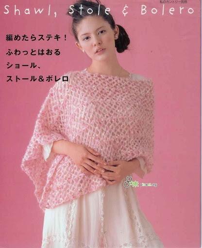 日文 Japanese crochet shawl编织披肩 - 念奴娇nn - Álbuns da web do Picasa