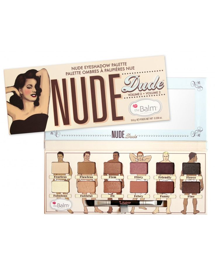 Nude Dude - Παλέτα σκιών by The Balm