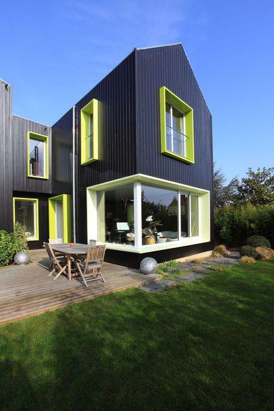 construire une maison colo en deux semaines le projet de claire architecture more photos. Black Bedroom Furniture Sets. Home Design Ideas