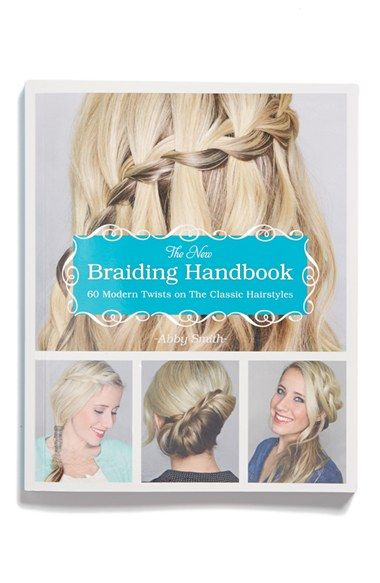 Perseus 'The New Braiding Handbook: 60 Modern Twists on the Classic Hairstyle' Book available at #Nordstrom