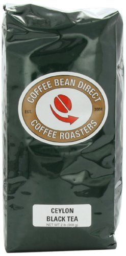 Coffee Bean Direct Ceylon Loose Leaf Tea, 2 Pound Bag ** Learn more by visiting the image link.