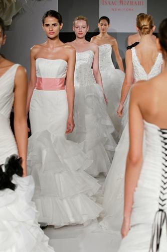 Isaac Mizrahi wedding gowns