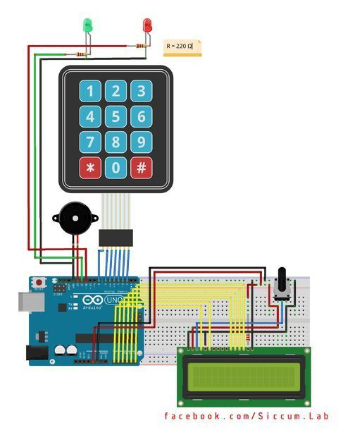 Picture of Arduino Keypad Password: