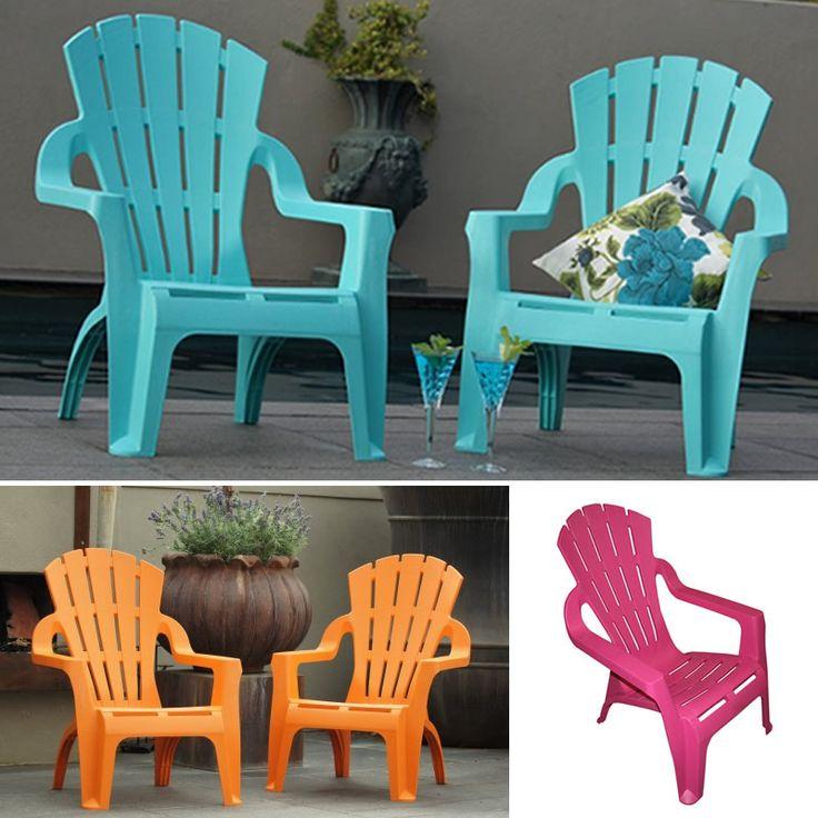 Italia Adirondack Plastic Garden Chair - Poppy's Home & Garden