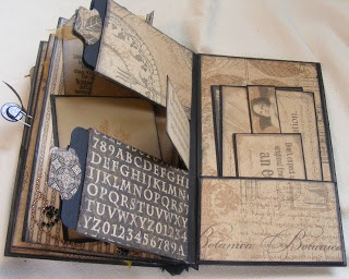 #papercraft #scrapbook #minialbum Creative Cafe': Reflections Paper Bag Album