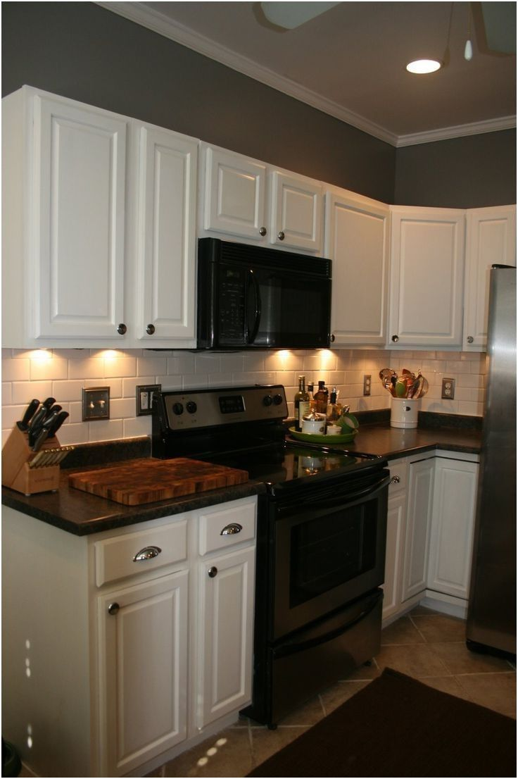 100+ what color kitchen cabinets go with black appliances