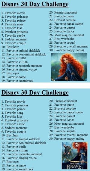 """""""30 Day Disney Challenge"""" by the-nerdy-geek-chic ❤ liked on Polyvore"""