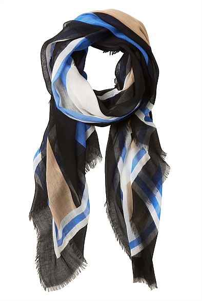 Geometric Print Scarf #witcherywishlist