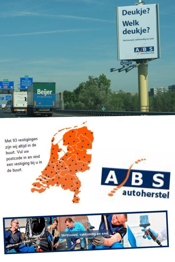 Deukje? Welk deukje? ABS Autoherstel, vertrouw, vakkundig en snel. Meer info: www.abs.nl   Ook indruk maken? www.interbest.nl   #interbest #billboards #buitenreclame #reclamemast #reclamezuil #snelwegreclame #abs #autoschade #automotive #ooh #outofhomeadvertising #billboard #reclamezuilen #snelwegen