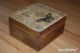 Resultado de imagen de Decoupage - skrzynki, pudełka, szkatułki