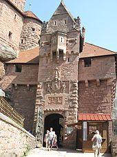 Château du Haut-Kœnigsbourg, Alsace, France  - Wikipedia