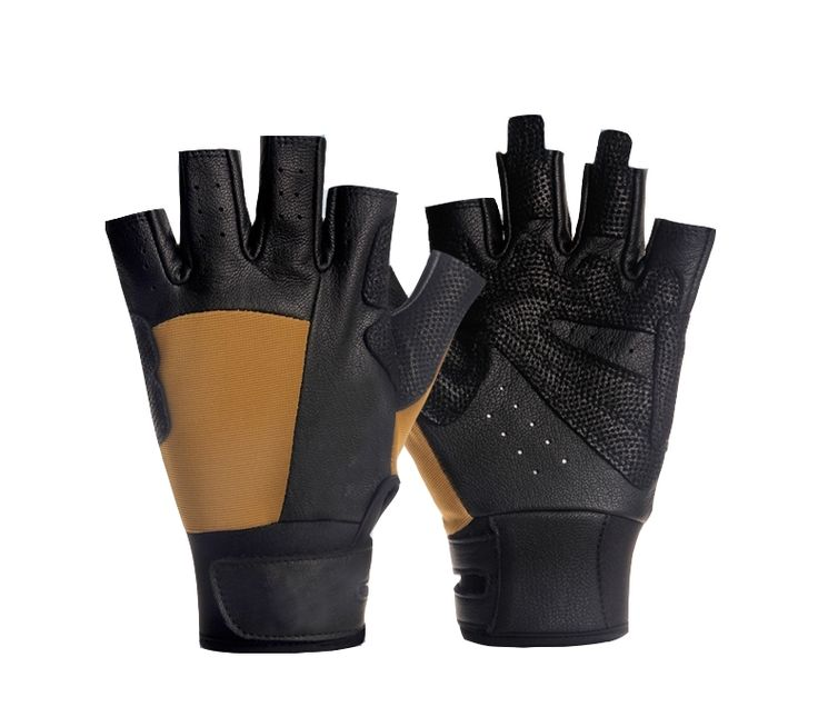Breathable, Abrasive resistant, Anti-skid rock climbing gloves