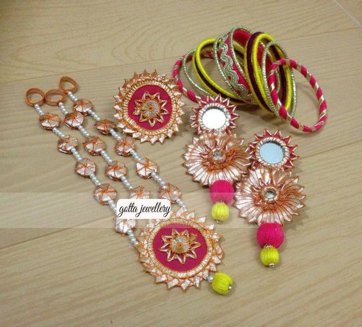 Gota Jewelry For Mehndi 2015 | Bridal Mehndi Jewelry 2015