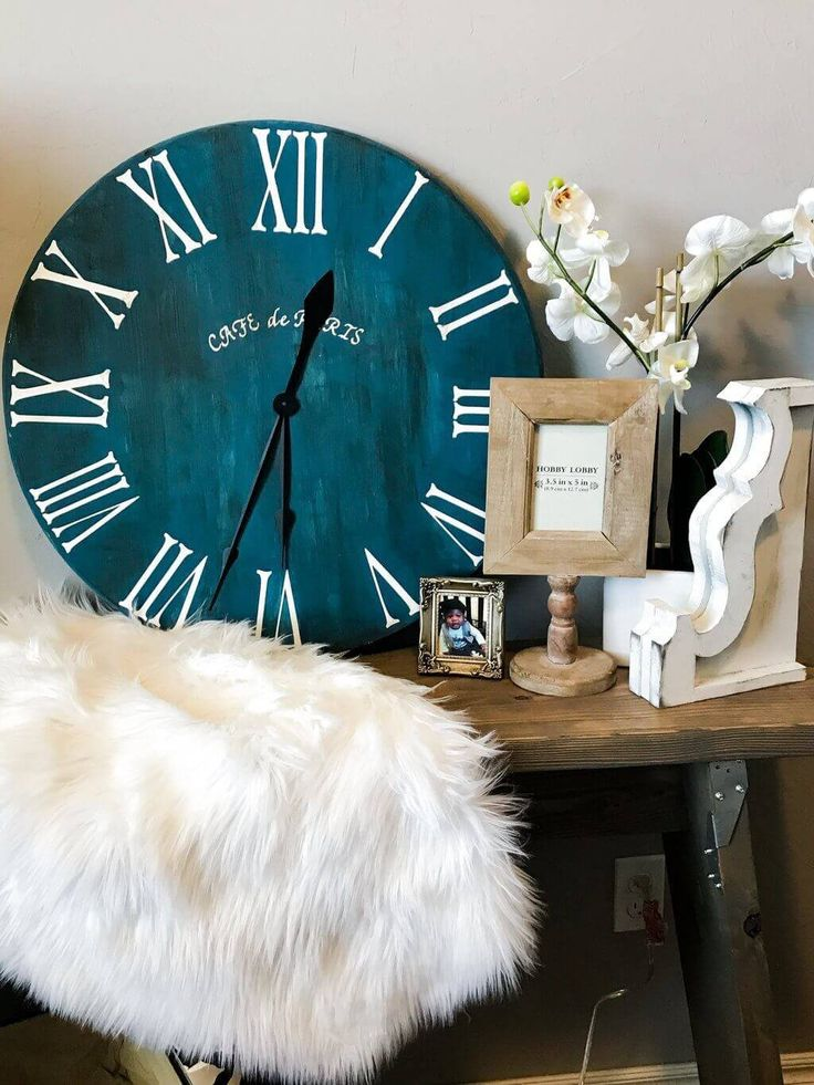 DIY Woodworking Ideas Roman Numeral Clock Tutorial