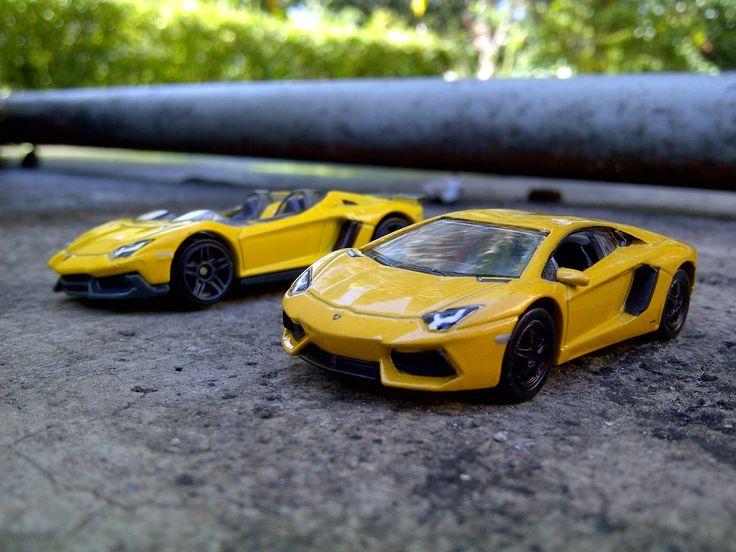 Hot Wheels and Welly 1:64 Diecast of Lamborghini Aventador LP 700-4 and Aventador Jota. Hot Wheels custom Lamborghini. #HotWheels #lamborghini #diecast