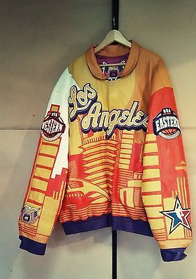 Authentic Limited Edition Jeff Hamilton LAKERS jacket 6XL