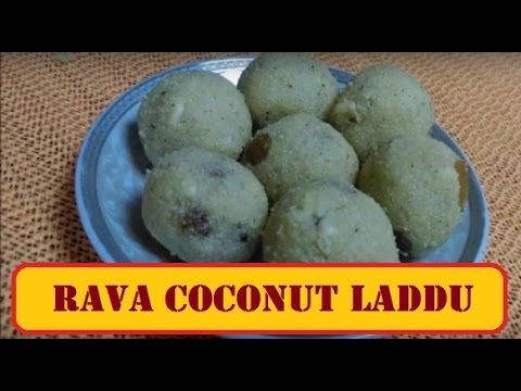 Rava Laddu Recipe Video