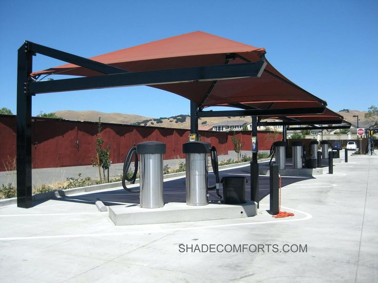 Business Awning And Canopies Car Wash Shade Structures