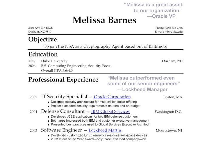 Resume Help, Resume Writing And Resume Ideas