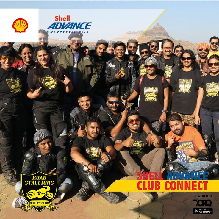 Shell Advance club connect powered by TORQ is experiencing biking passion and a warm welcome from Road Stallions Bullet Club #TheWinningIngredient #TORQ #TorqRiderApp
