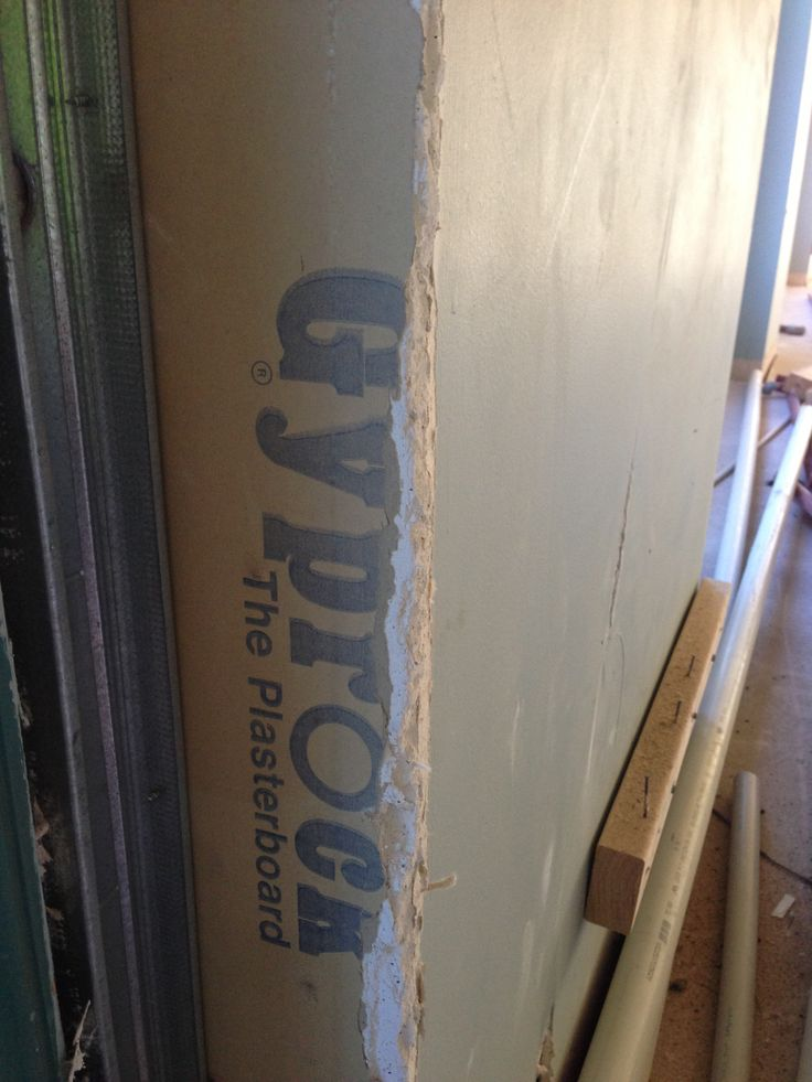 Old plasterboard