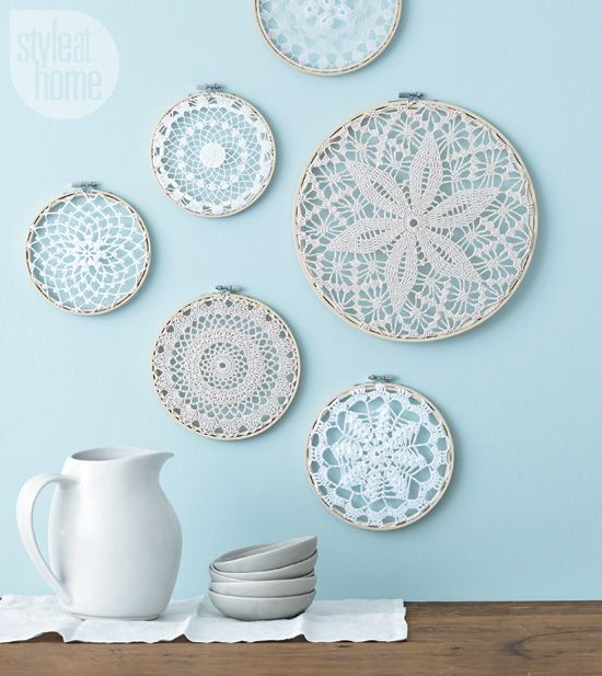 how to make beautiful wall hangings at home