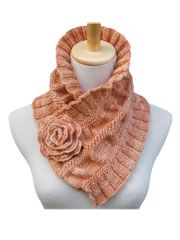Ruffled & Ruched Scarf