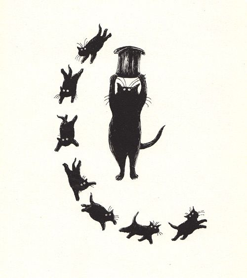 T.S. Eliot's Old Possum's Book of Practical Cats | illustrated by Edward Gorey ♥♥♥