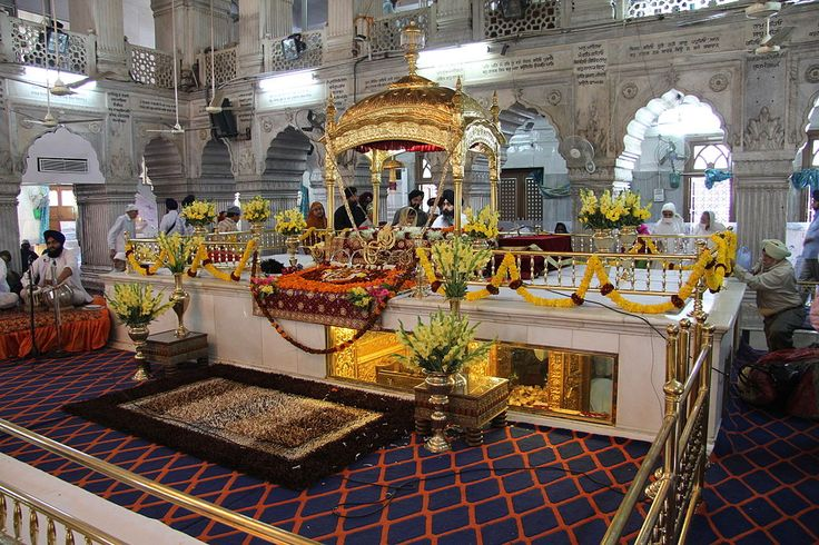 Guru Tegh Bahadur - April 1621 – 24 November 1675 revered as the ninth Nanak, was the ninth of ten Gurus of the Sikh religion. Guru Tegh Bahadur continued in the spirit of the first guru, Nanak; his 115 poetic hymns are in the text Guru Granth Sahib. Guru Tegh Bahadur resisted the forced conversions of KashmiriPandits to Islam, and was publicly beheaded in 1675 on the orders of Mughal emperor Aurangzeb in Delhi for refusing to convert to Islam. Gurudwara Sis Ganj Sahib and Gurdwara Rakab…