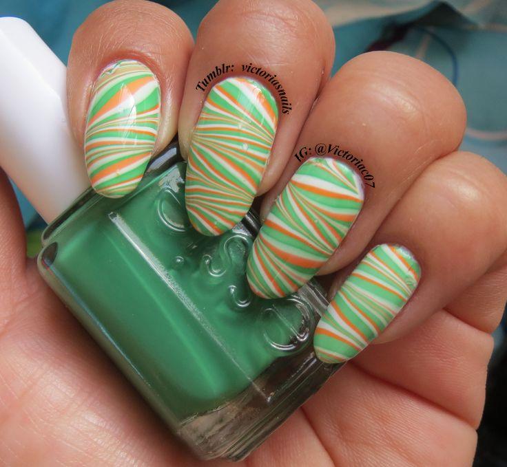 42 best Irish Flag Nails and Shamrocks images on Pinterest | Flag ...