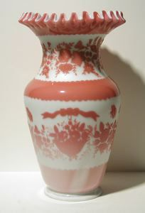 "Currier Collections Online - ""Vase"" by Mount Washington Glass Company"