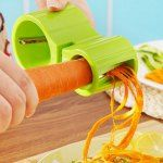 Vegetable Spiral Cutter with Knife ...