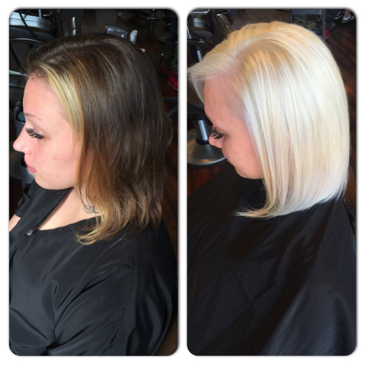 Bleach And Tone Before And After By Jessica Hair By